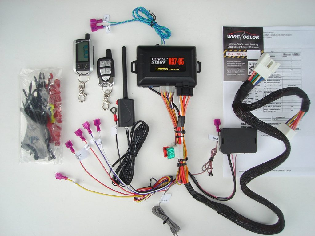 Two Way Remote Starter Kit w Keyless Entry for 2011 2015 Toyota Tacoma G Key Plug and Play Installation two way remote starter kit w keyless entry for 2011 2015 toyota t-harness remote starter wiring at webbmarketing.co