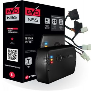 EVO-NIST1 – Module & T-Harness combo for Nissan and Infiniti Push-To-Start vehicles with keyport